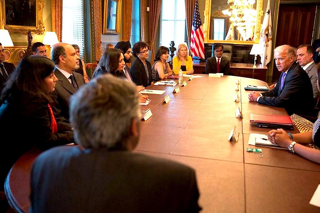 Biden meets Indian Community Leaders