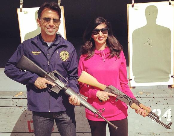 Bobby Jindal with Supriya