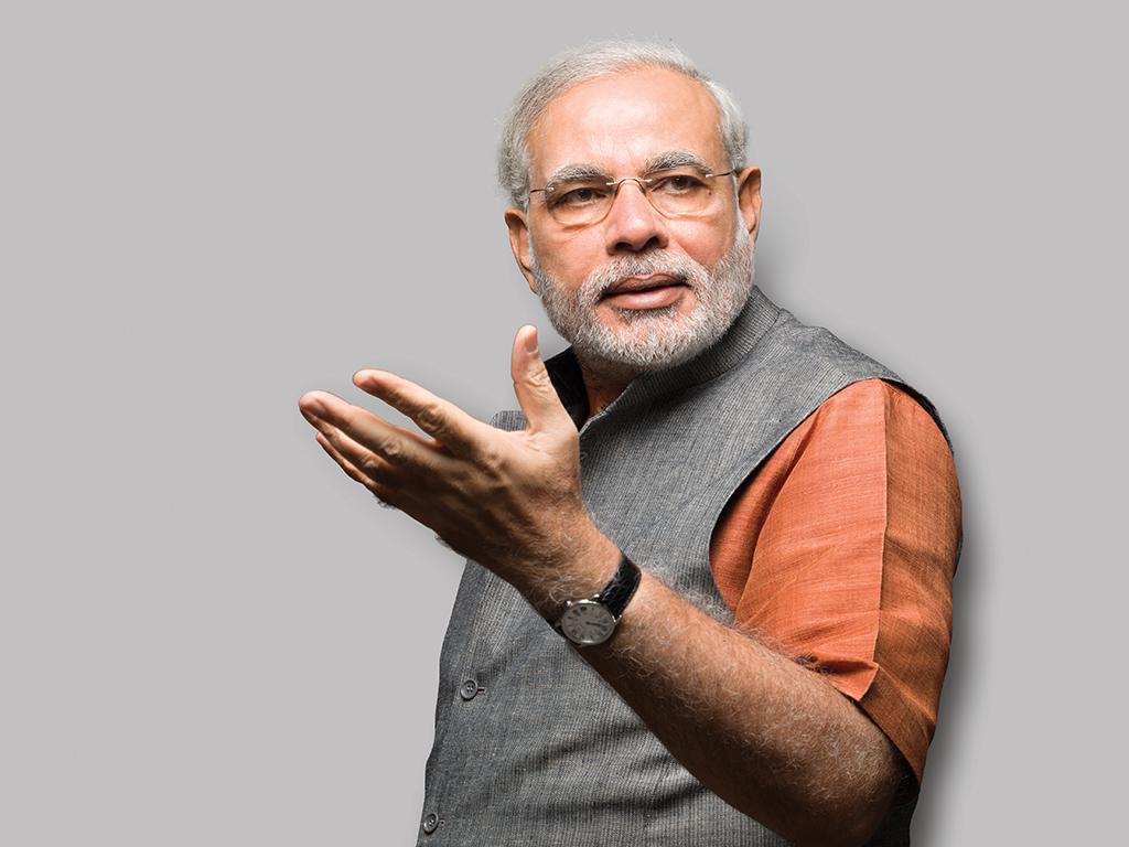 Narendra Modi Gesture