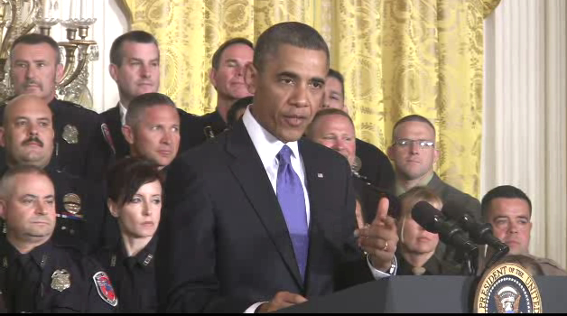 President Obama at TOP COPS Award