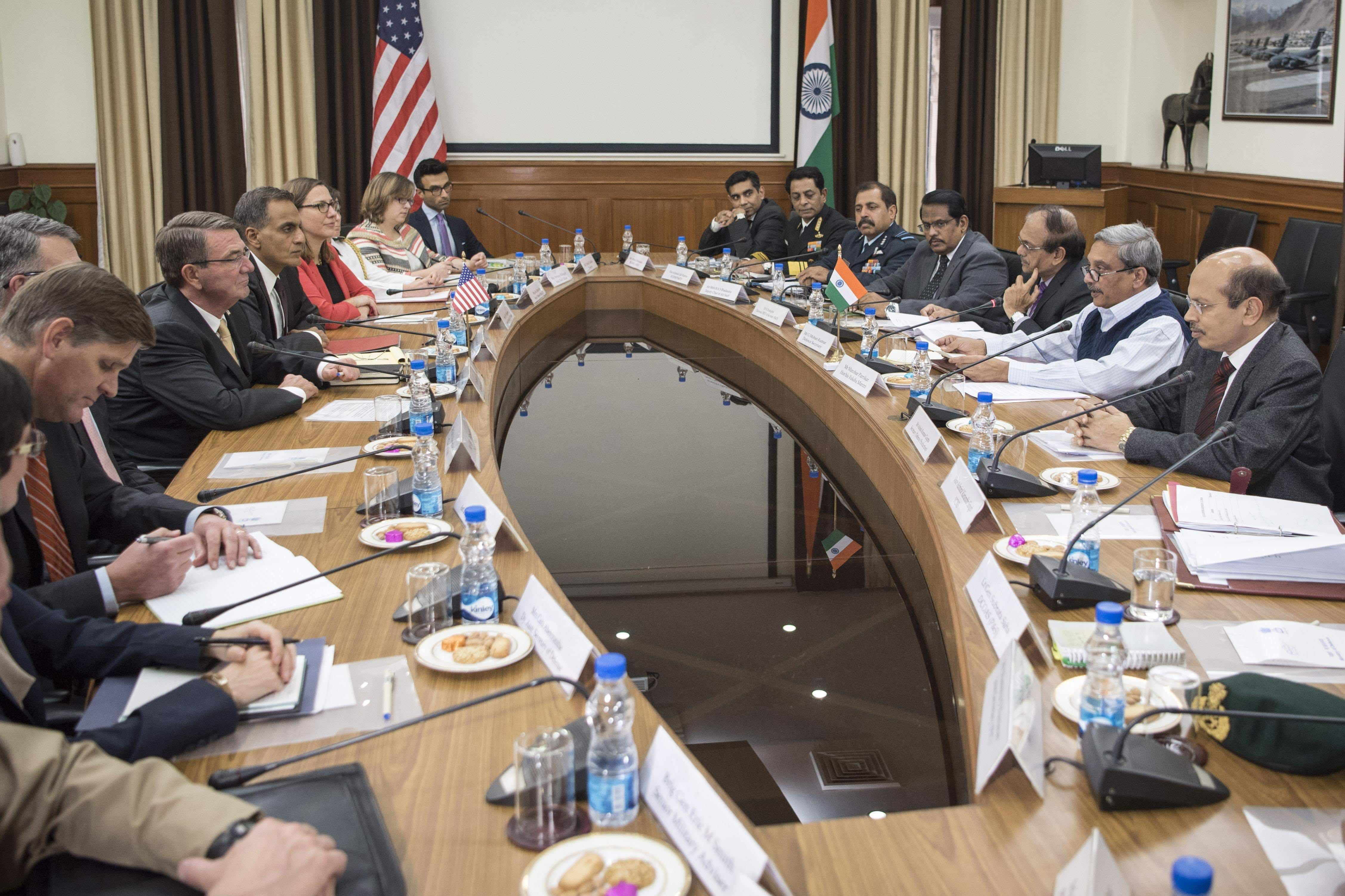 SD visits meets with Indian minister of defense