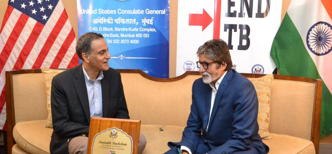 Ambassador Verma with Amitabh Bachchan