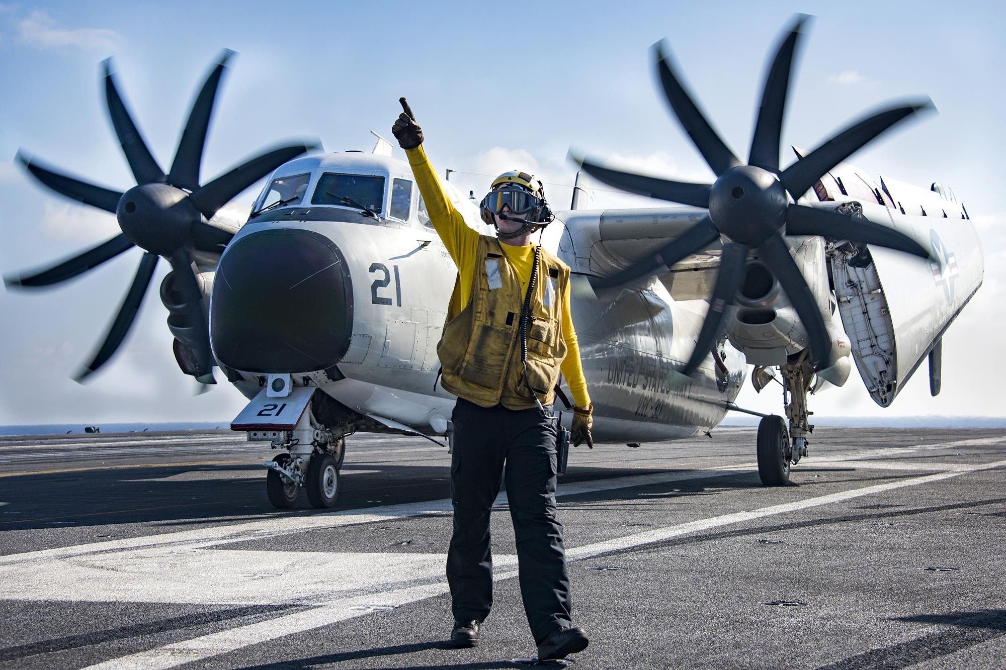 US Navy Deck