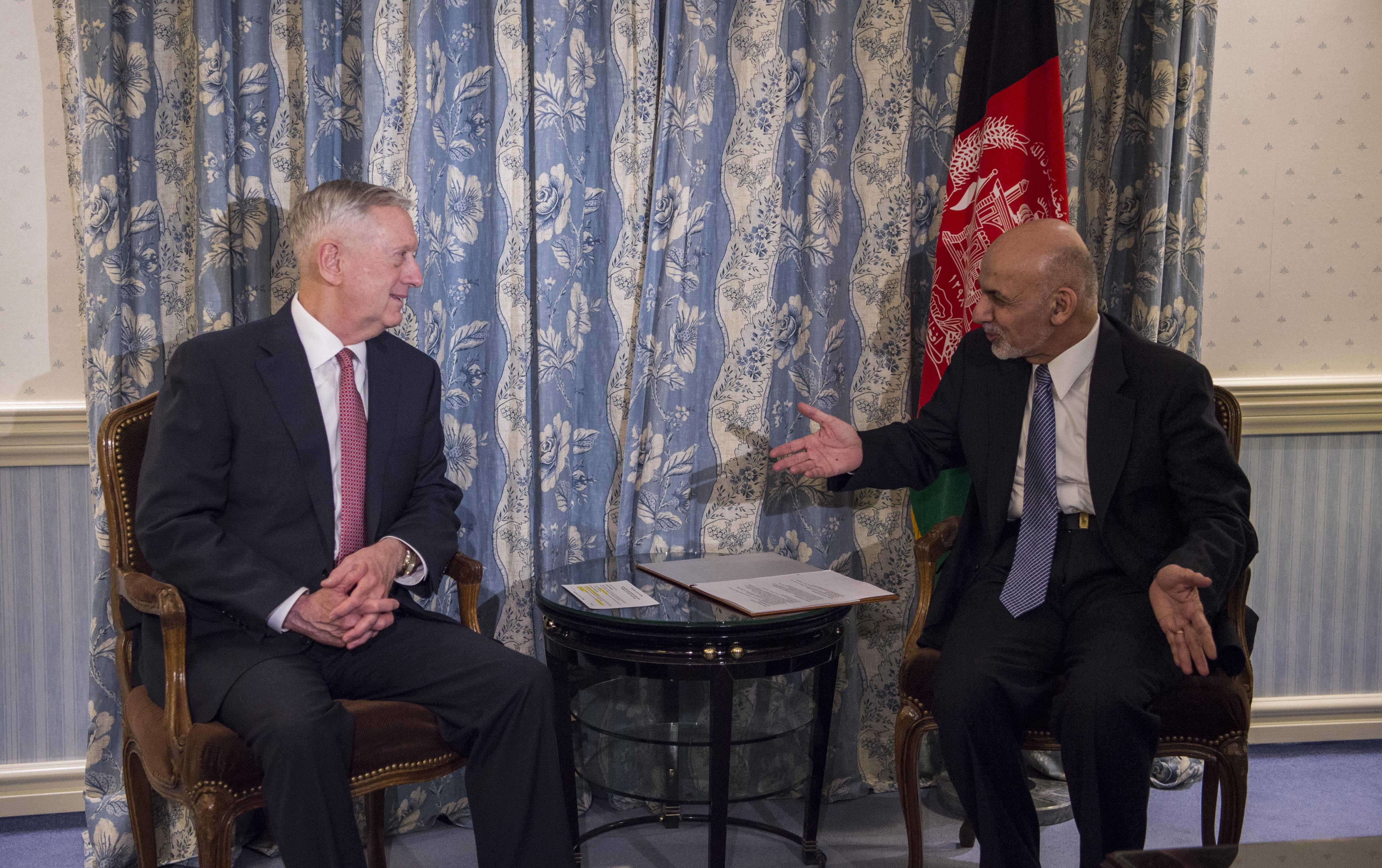 SD meets with Afghan President Ashraf Ghani