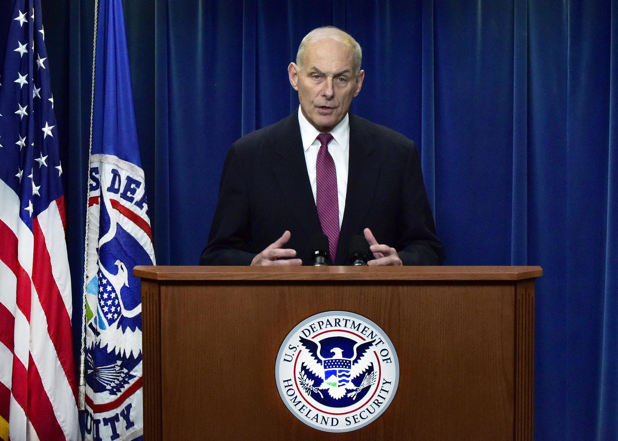 Secretary of Homeland Security John Kelly Media
