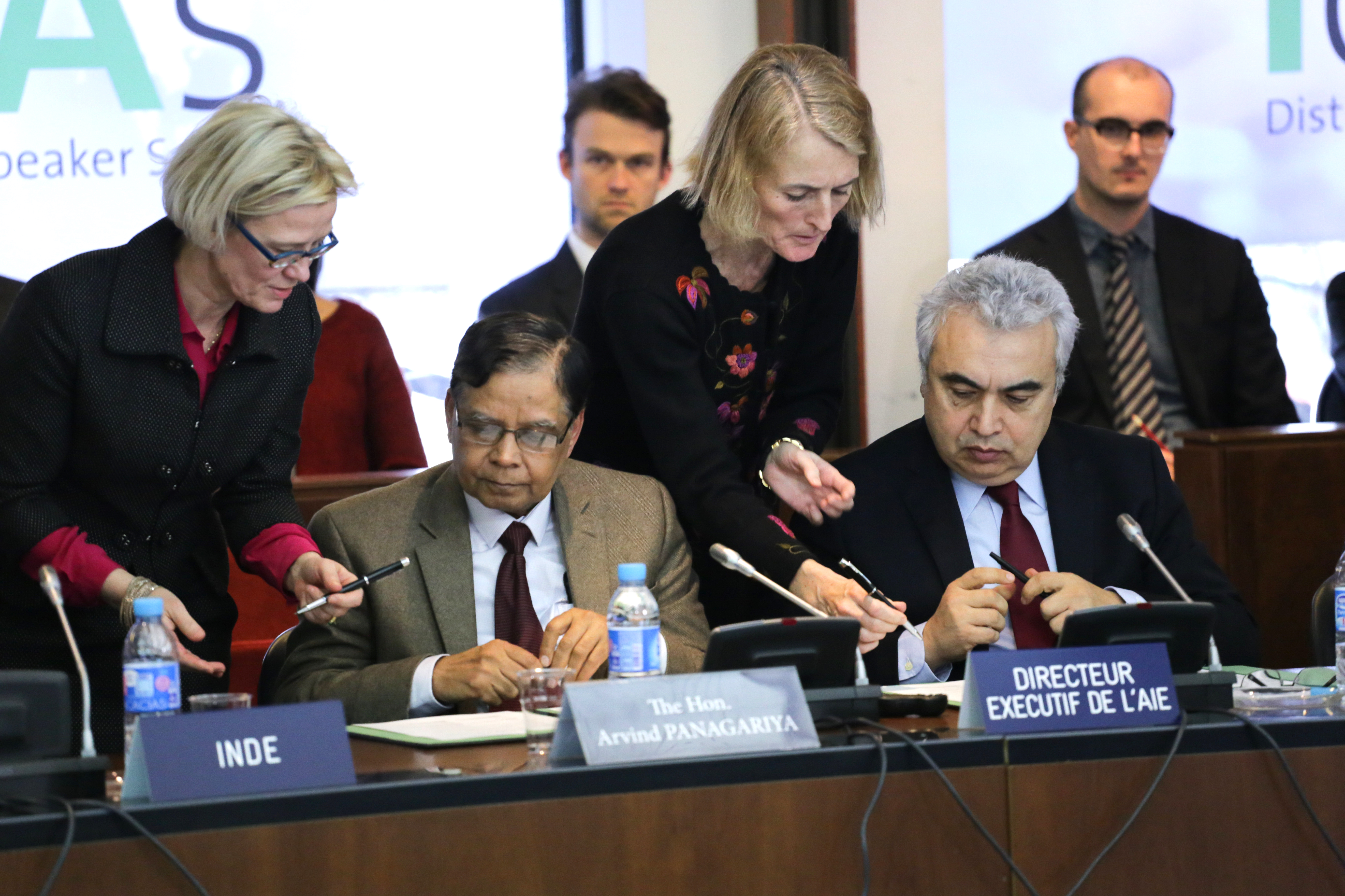 India and the IEA Agency. Photo by Andrew Wheeler
