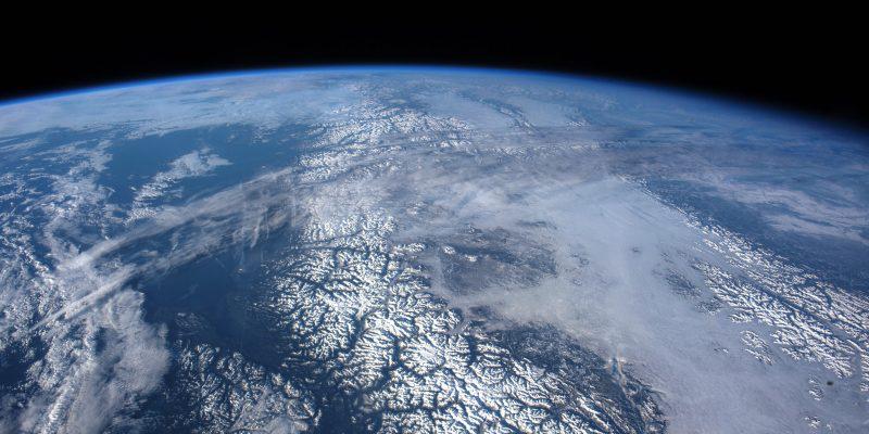 Over the Gulf of Alaska