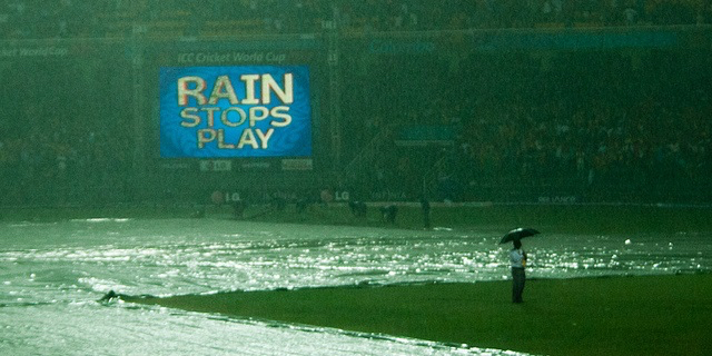The soggy ICC Cricket World Cup 2011 in Sri Lanka. Image- Dhammika Heenpella via Flickr