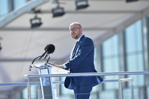 Remarks by Charles Michel (Prime Minister of Belgium) at the handover ceremony for the new NATO Headquarters