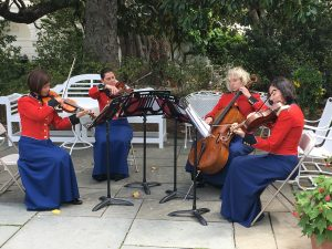 May 4 Musicians play in Rose Garden