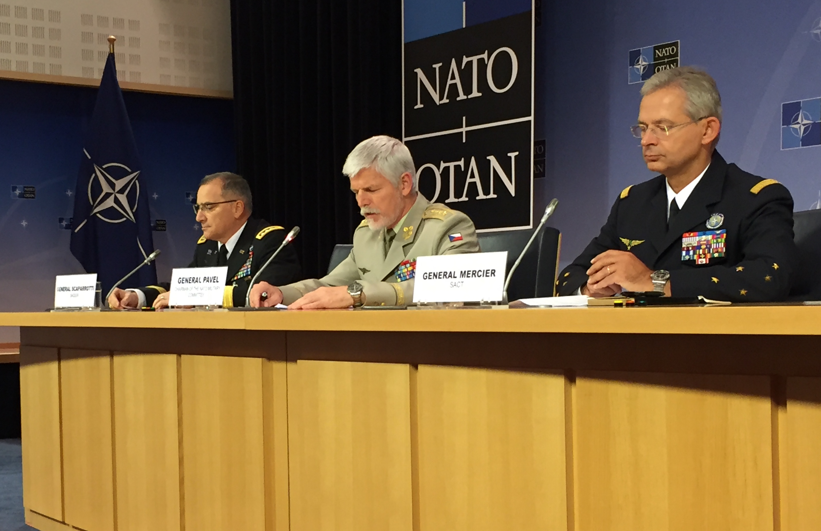 NATO Meeting May 17