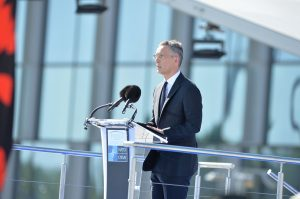 Remarks by NATO Secretary General Jens Stoltenberg at the handover ceremony for the new NATO Headquarters
