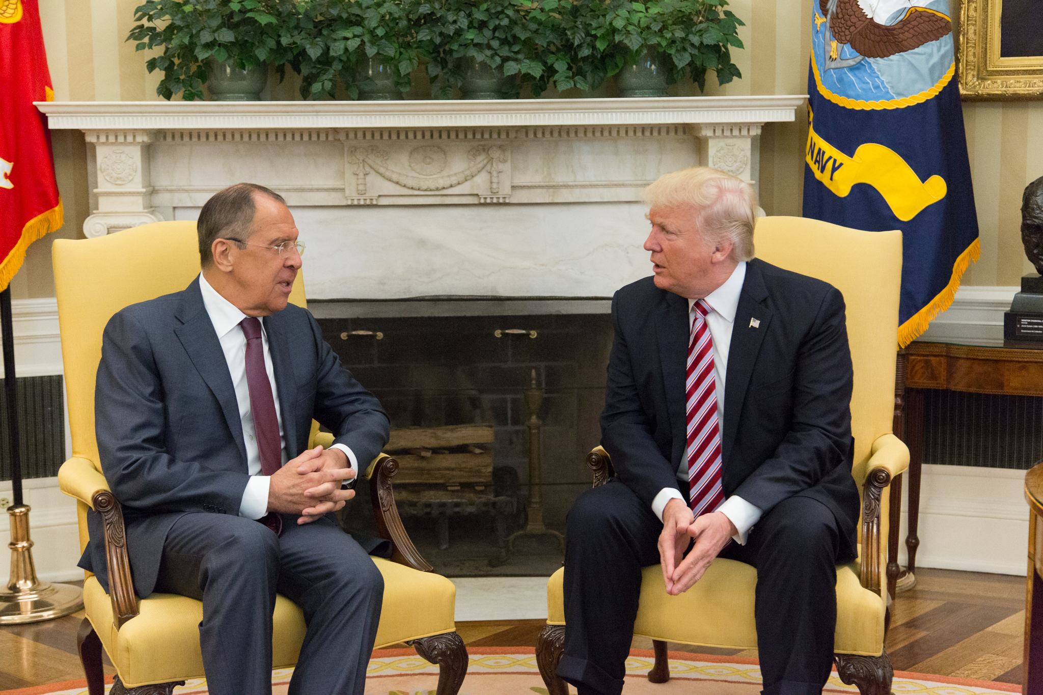 President Trump Meets with Russian Foreign Minister Sergey Lavrov:Official White House Photo by Shealah Craighead