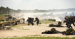 Sri Lankan Marines in the US