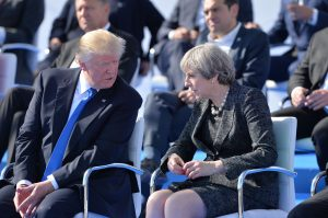 Donald Trump (President, United States) and Theresa May (Prime Minister, United Kingdom)