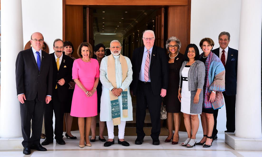 US Congressional Delegation with1 Modi May 2017