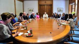 US Congressional Delegation with2 Modi May 2017