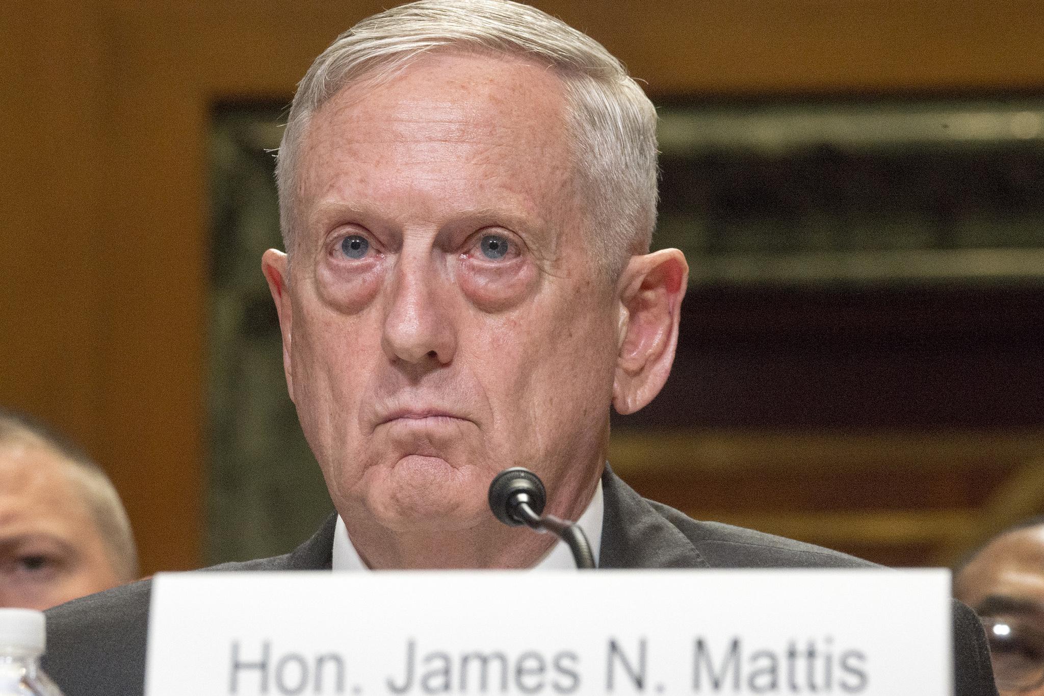 Defense Secretary Jim Mattis 1