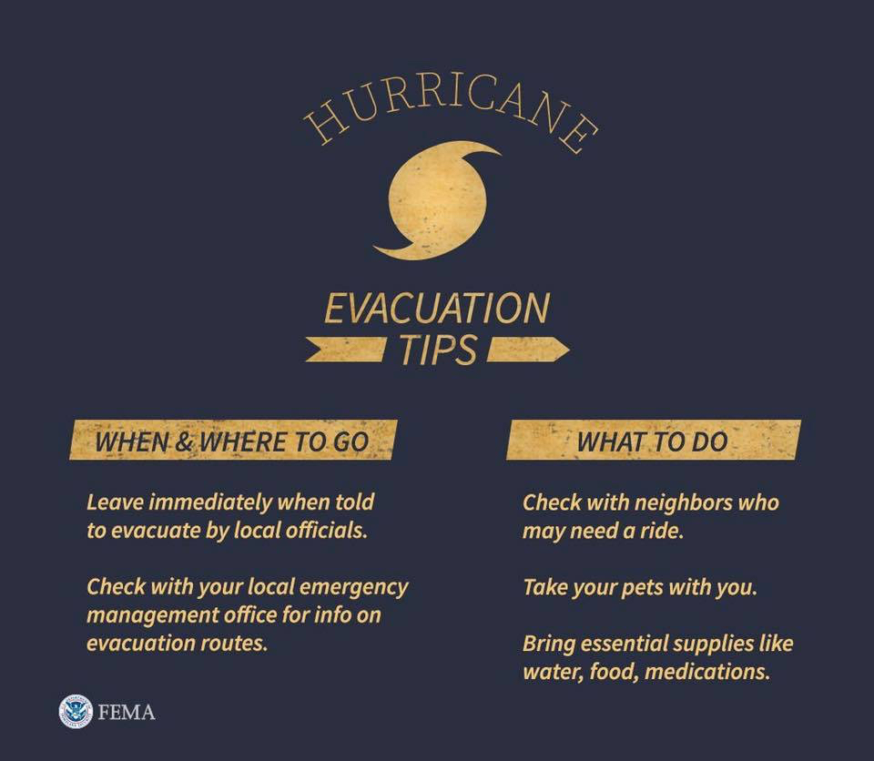 Hurricane Evacuation Tips