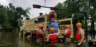 Rescue operations in the US last month. Image- Zachary West, Texas National Guard via Flickr