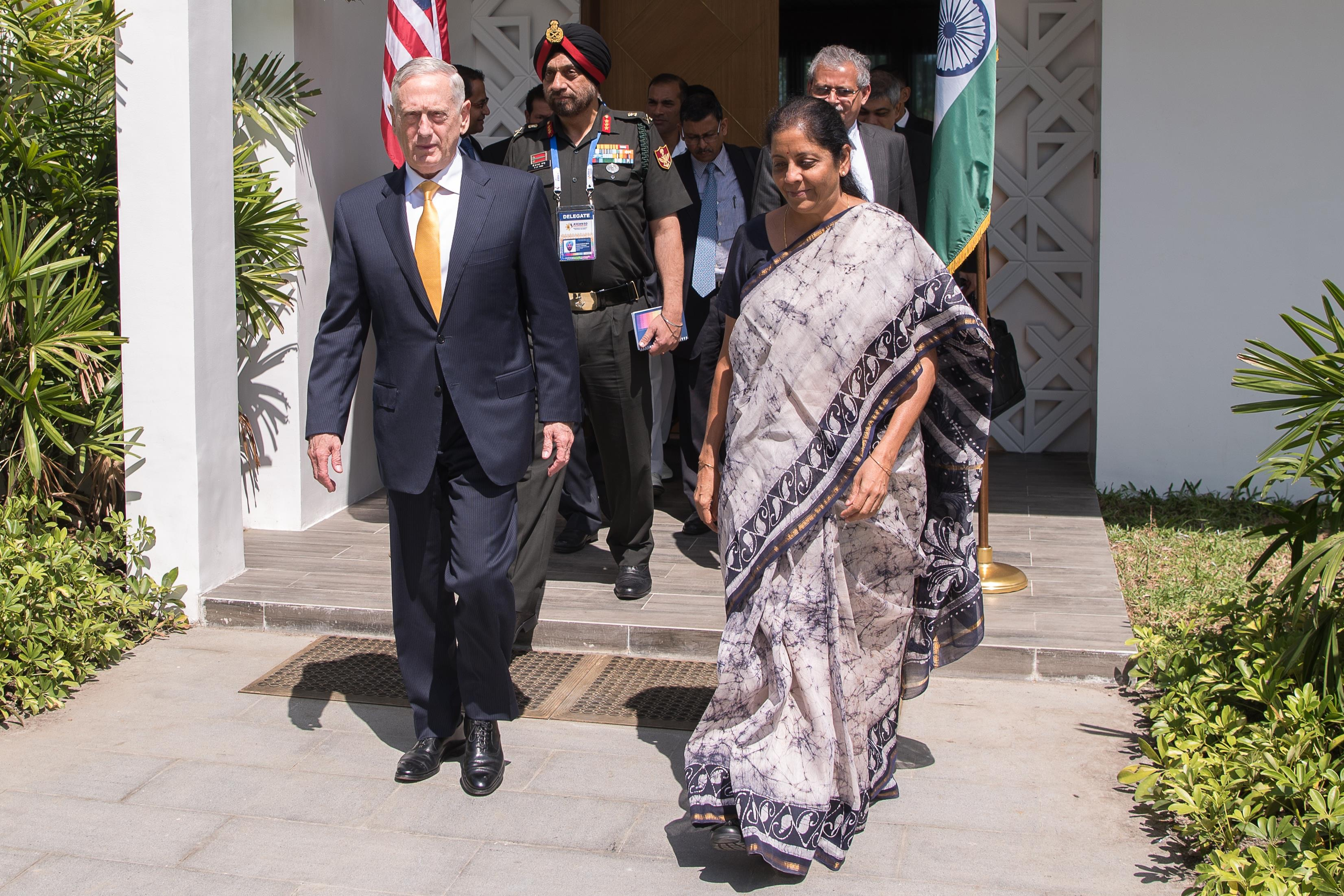 SD bi-lateral meeting with Indian MinDef