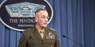 CJCS briefs media about Niger operations
