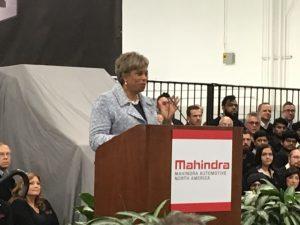 Congresswoman Brinda Lawrence