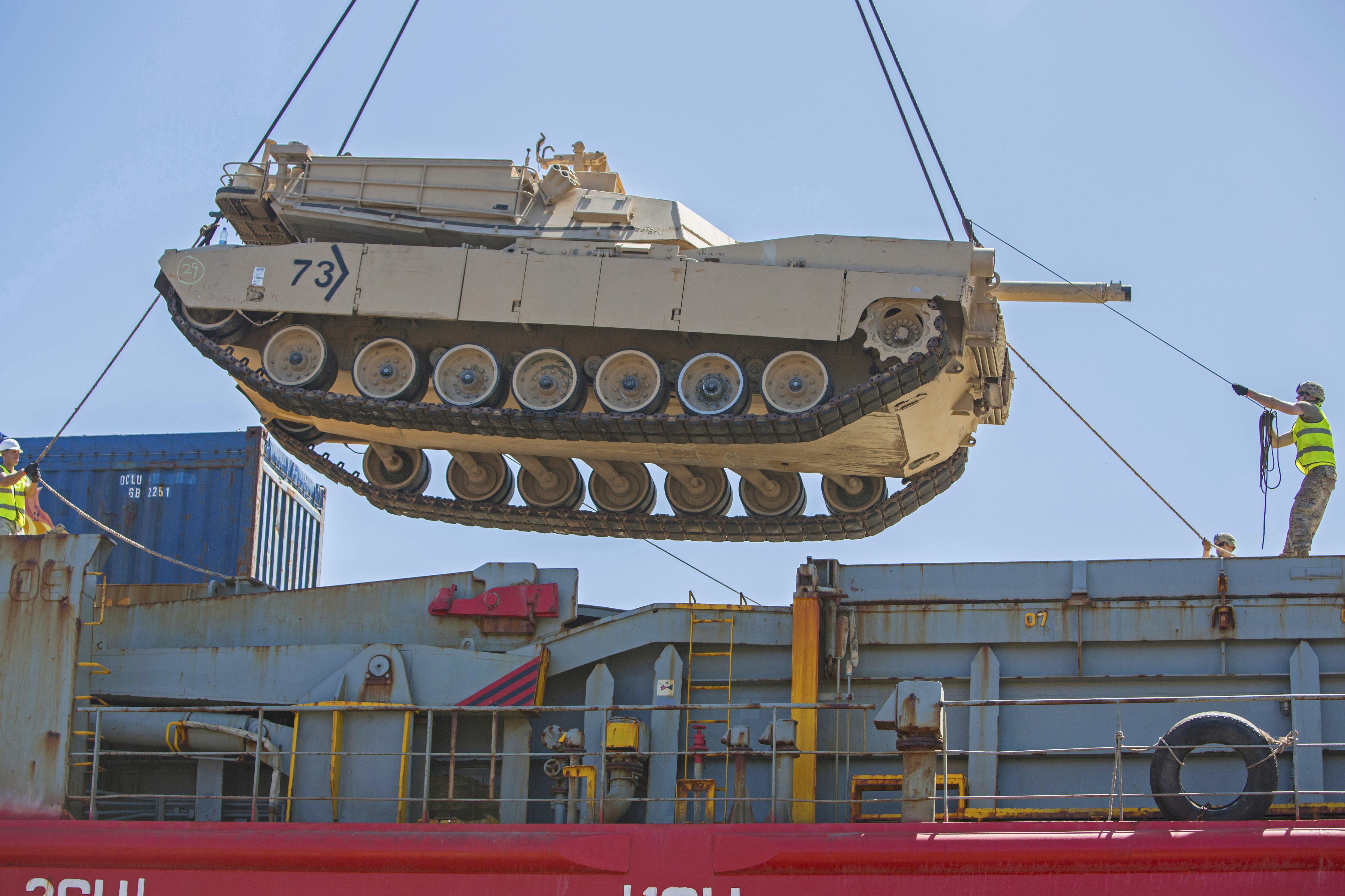 Suspended Tank US equipment