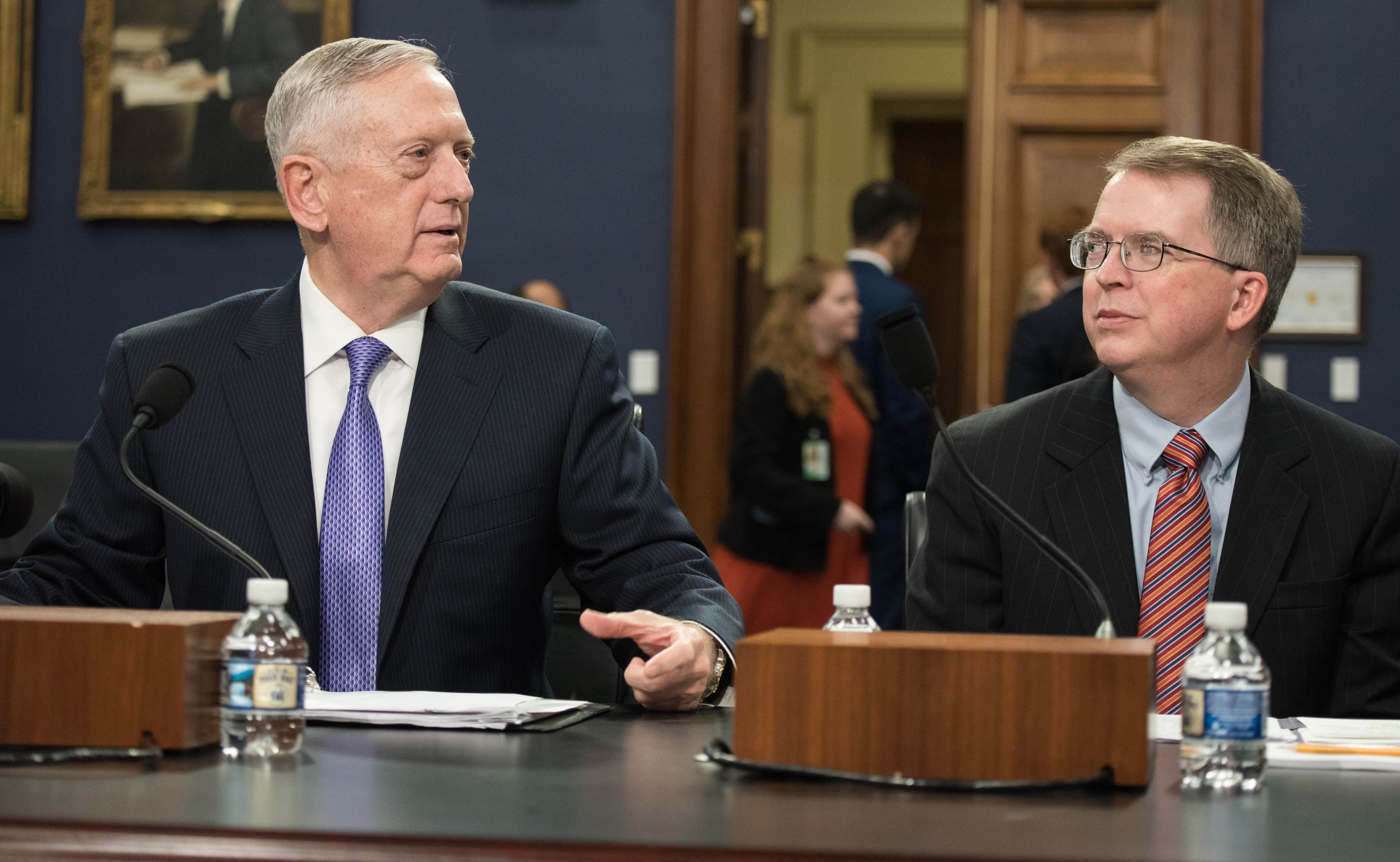 SECDEF and CJCS at HAC-D hearing