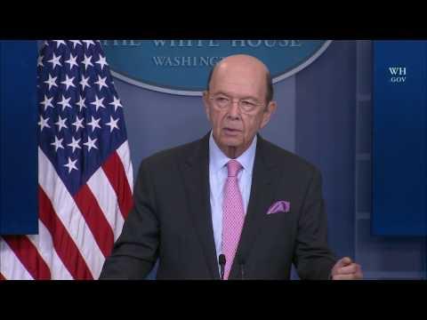 Secretary of Commerce Wilbur Ross