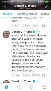 Trump Mental Tweet 1