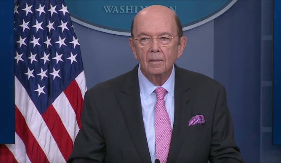 Commerce Secretary Wilbur Ross