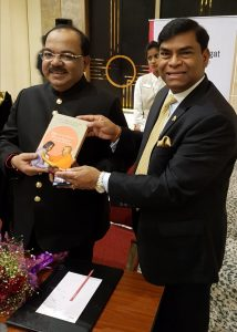 Hari with Kolkata Mayor