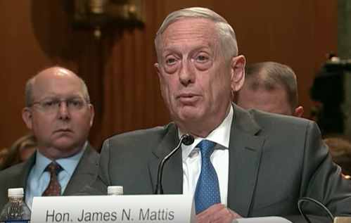 General Mattis at Senate