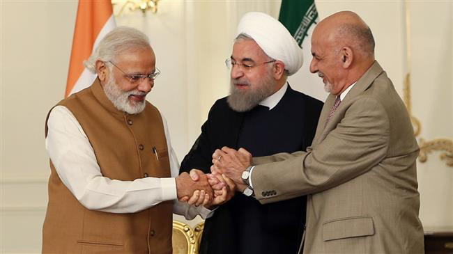 India Modi Iran Afghanistan leaders together
