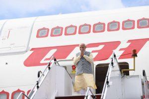 Modi arrives in Malaysia