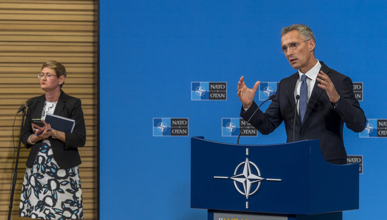 Press conference by Jens Stoltenberg, NATO Secretary General, ahead of the Meeting of NATO Defence Ministers of June 6, 2018