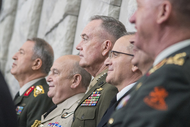 Marine Corps Gen. Joe Dunford, chairman of the Joint Chiefs of Staff