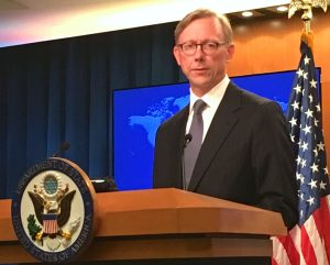 Brian Hook Chief, Iran Action Group