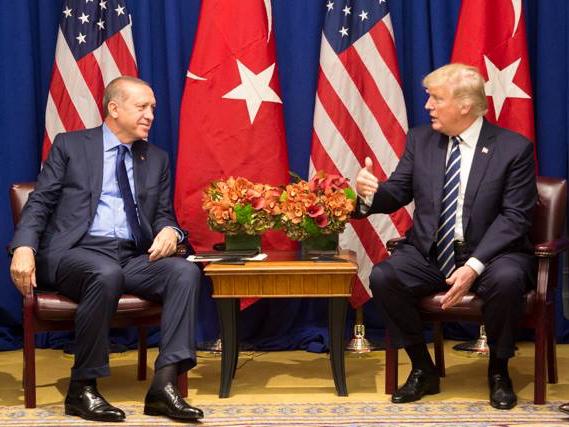 Erdogan and Trump at UN