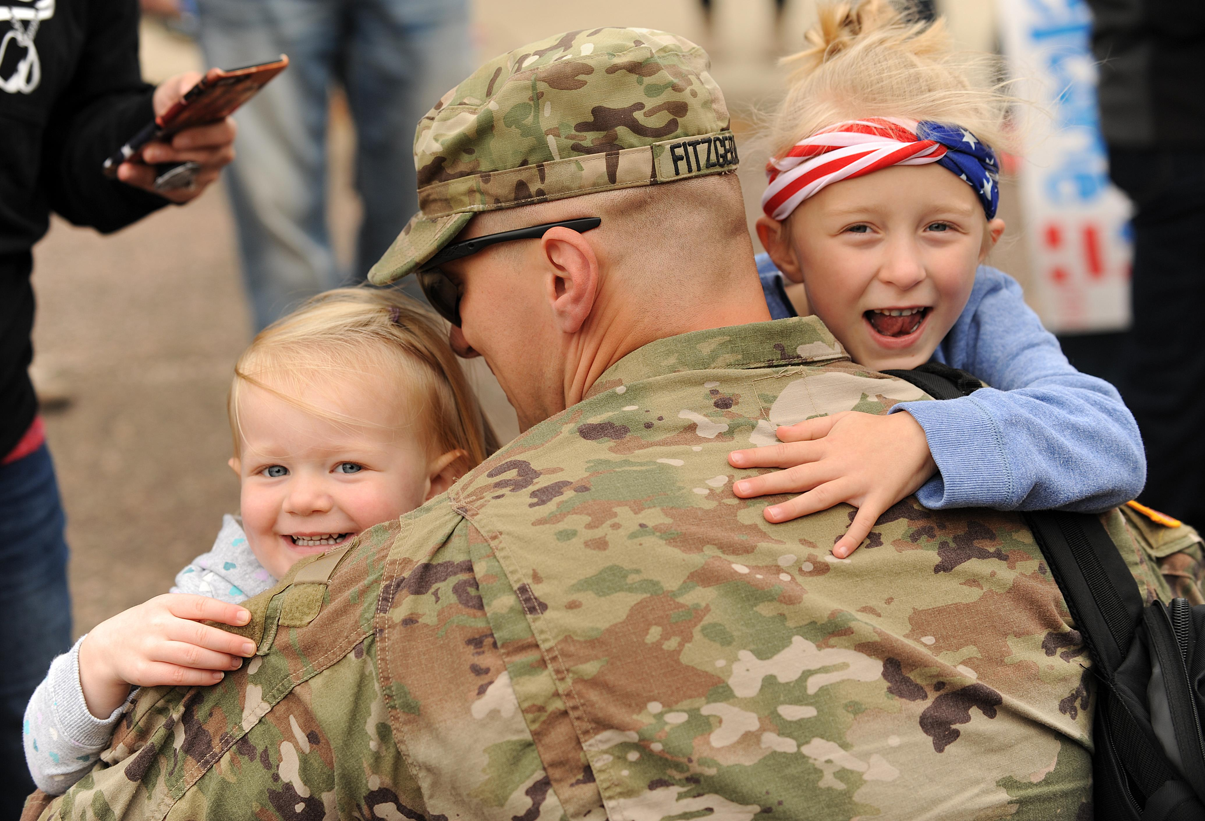 SD Guard Soldiers return home from Middle East