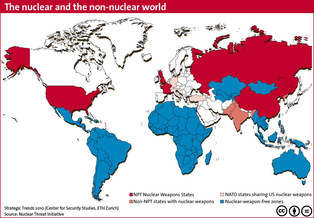 Nuclear and non-nuclear world