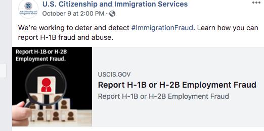 USCIS Visa Fraud