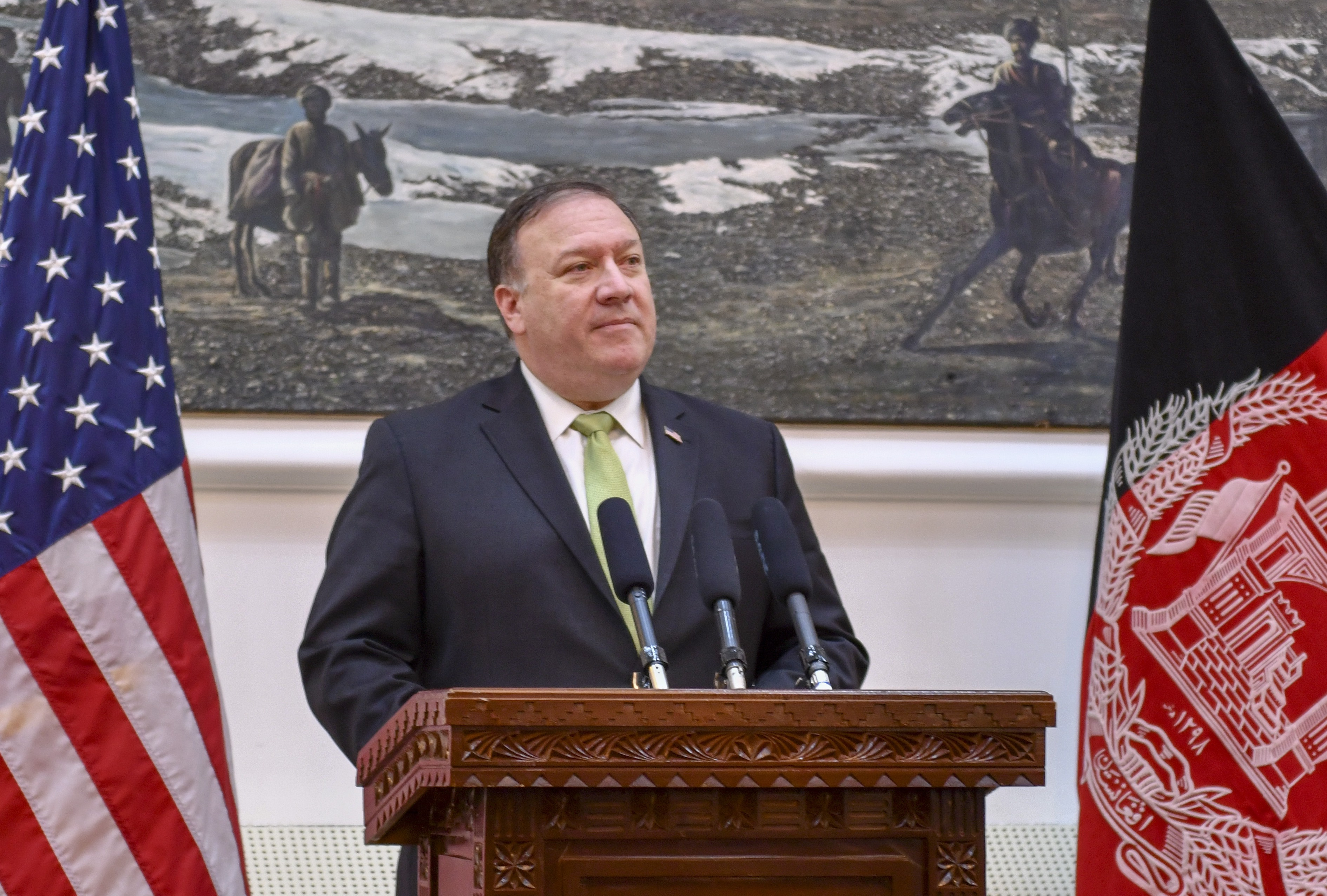 Secretary Pompeo in Kabul press conf