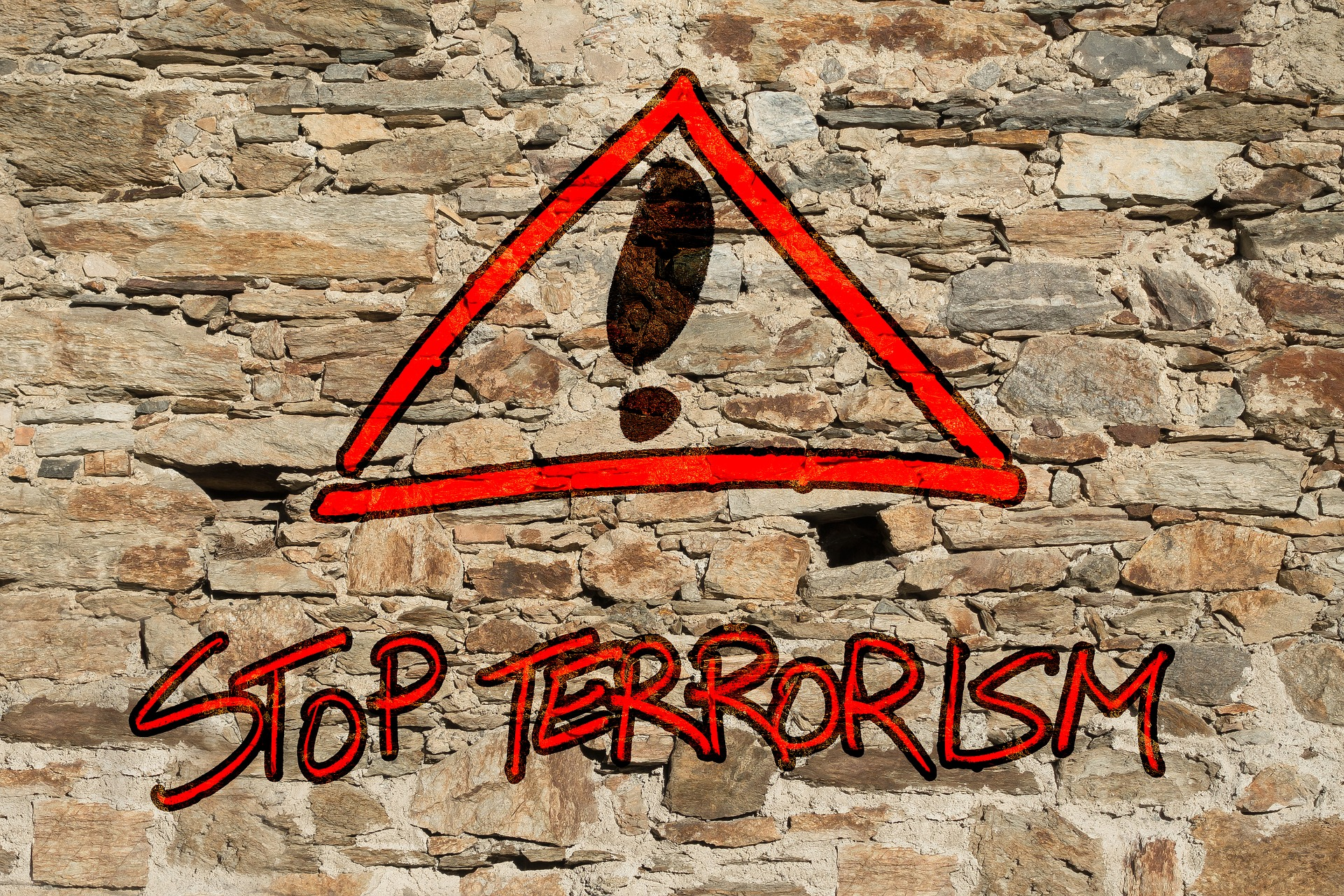 Stop Terrorism on the Wall