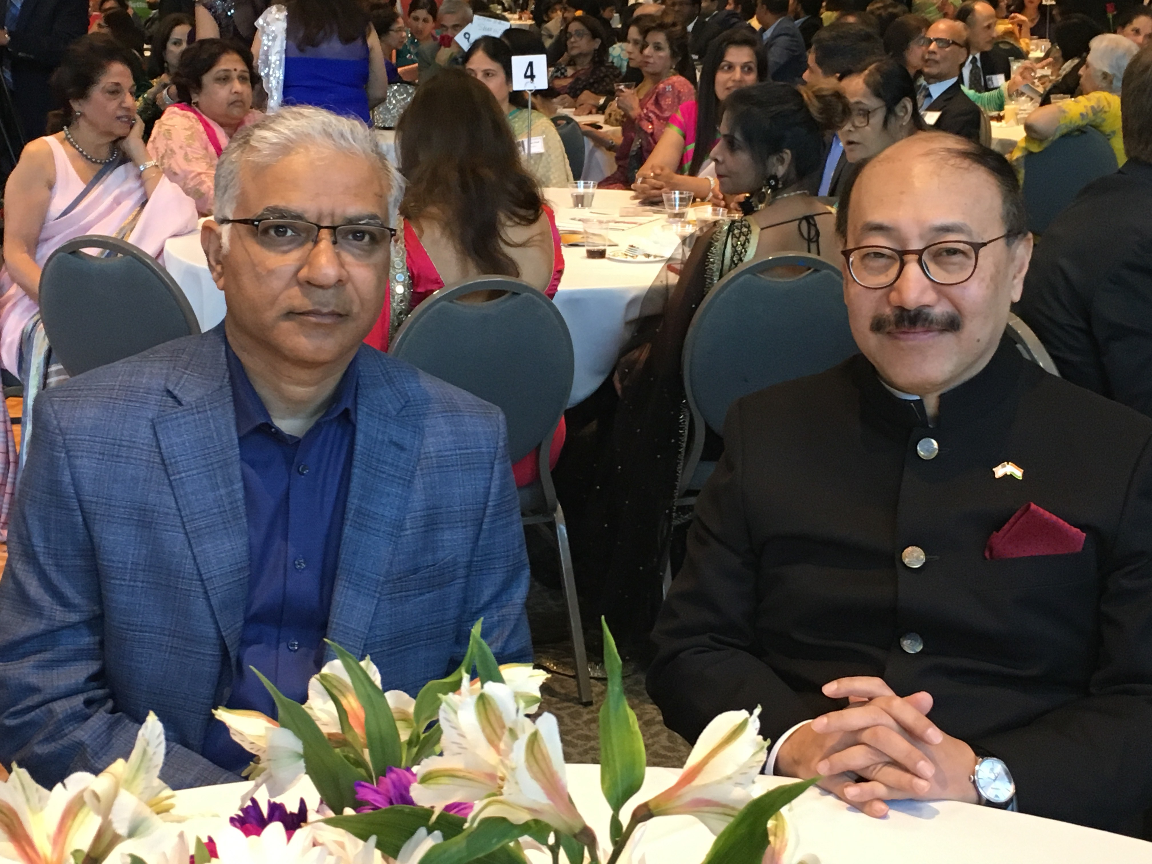 Ambassador with DCM Mishra