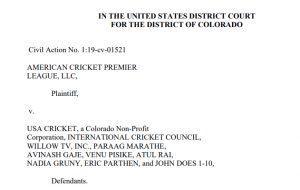 Cricket case USA