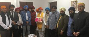 Khalistan Shringla with Sikh leaders 6