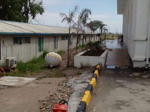 Kartarpur Dome Damage 3